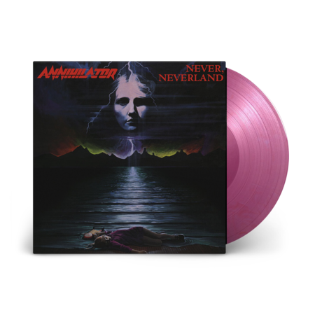 Annihilator: Never Neverland: Limited Edition Purple Marble Vinyl