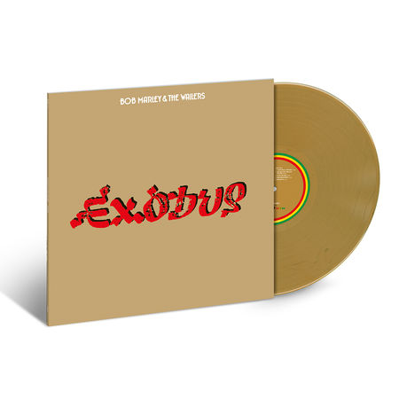 Bob Marley and The Wailers: Exodus 40: Exclusive Gold Vinyl
