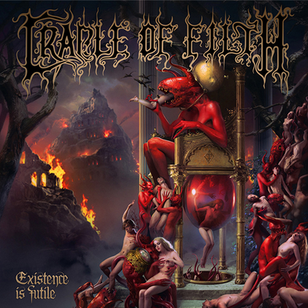 Cradle Of Filth: Existence Is Futile: CD
