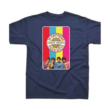The Beatles: Sgt Pepper Rainbow T-Shirt