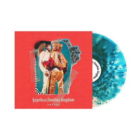 Halsey: Hopeless Fountain Kingdom: Clear Vinyl With Teal Splatter