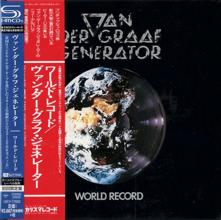 Van Der Graaf Generator: World Record: SHM-CD