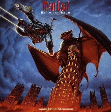 Meatloaf: Bat Out Of Hell II - Back Into Hell (2LP) (Blue)