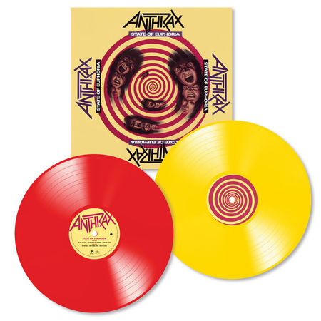 Anthrax: State Of Euphora: 30th Anniversary (2LP Red / Yellow)
