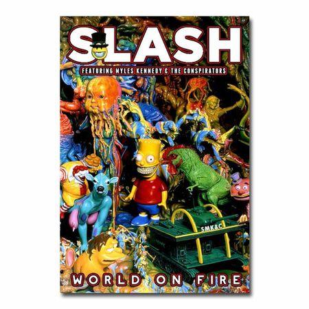 Slash: World On Fire Lithograph