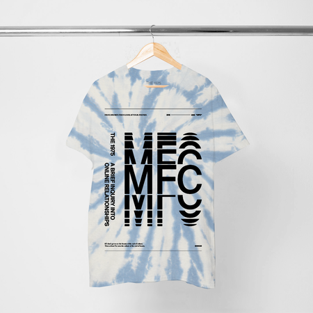 The 1975: ABIIOR MFC TIE DYE T-SHIRT I