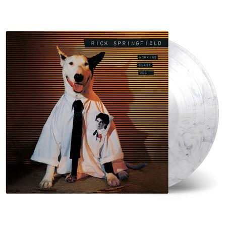 Rick Springfield: Working Class Dog: Limited Black & White Swirl Vinyl