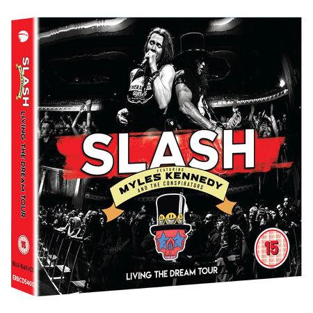 Slash ft Myles Kennedy & The Conspirators: Living The Dream Tour (Blu-Ray/2CD)