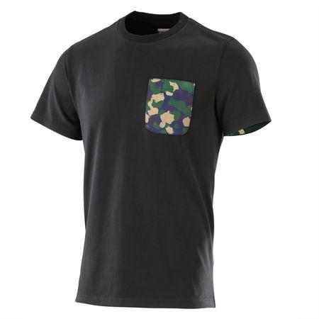 Professor Green: Camo Pocket T-shirt Black