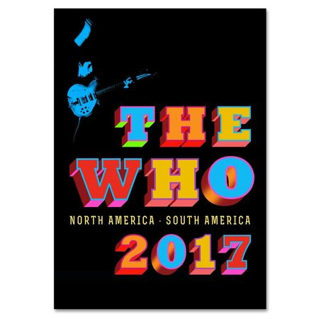 The Who: American Tour 2017 Programme
