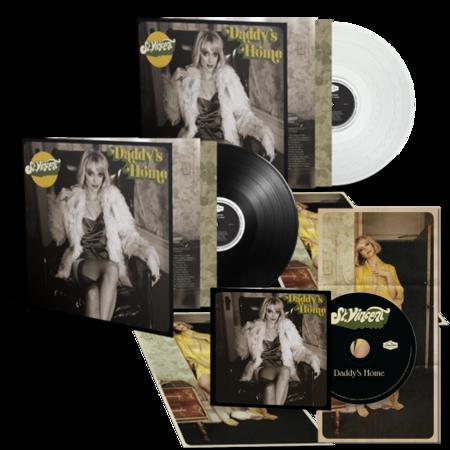 St. Vincent: Daddy's Home: Clear LP, Black LP, CD + Signed Print Bundle
