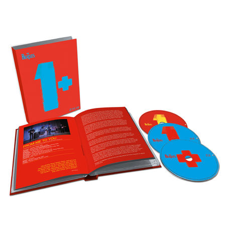 The Beatles: 1+ (2015 CD & 2xBlu-ray)