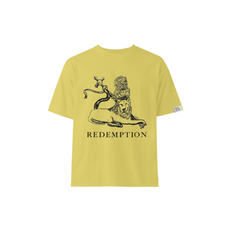 Bob Marley: Yellow Redemption Lion Kids T-shirt