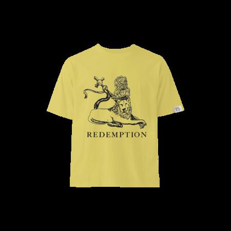 Bob Marley: Yellow Redemption Lion Kids T-shirt