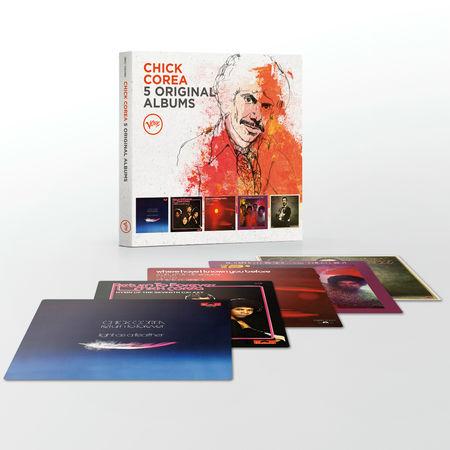 Chick Corea: 5 Original Albums