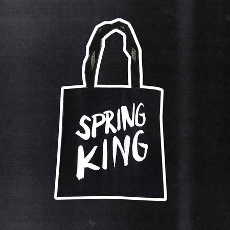 Spring King: Logo Tote Bag (Black)