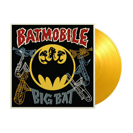 Batmobile: Big Bat Classic Hits + Horns: Limited Edition Translucent Yellow Vinyl