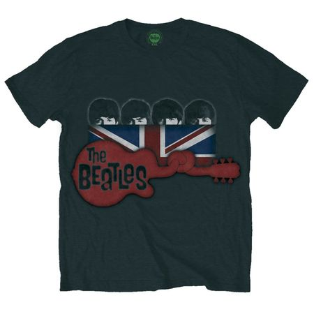 The Beatles: Guitar & Flag