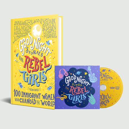 Rebel Girls: Goodnight Songs For Rebel Girls CD & book bundle