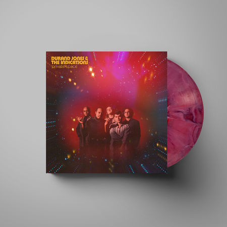 Durand Jones & The Indications: Private Space: Red Nebula Vinyl LP