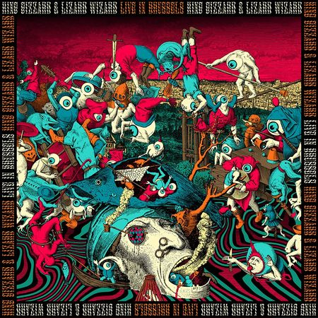 King Gizzard & The Lizard Wizard: Live In Brussels '19 (Fuzz Club Official Bootleg): 180gm Black Vinyl Box Set [limited to 334]
