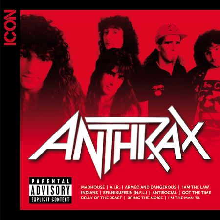 Anthrax: ICON (CD)