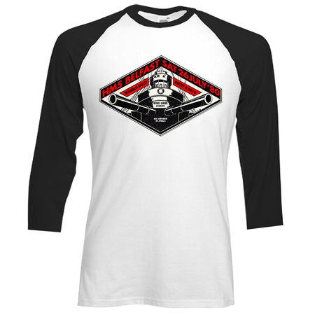 Spandau Ballet: HMS Belfast Baseball Shirt