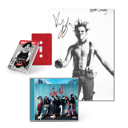 Yungblud: Cotton Candy Signed Poster Bundle