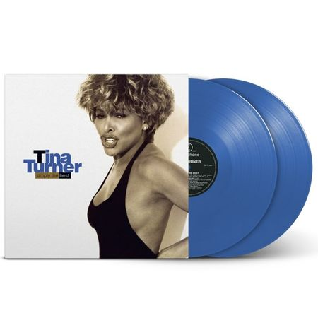 Tina Turner: Simply The Best: Limited Edition Blue Vinyl