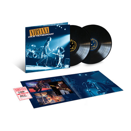 Nirvana: Live At The Paramount: Double Vinyl