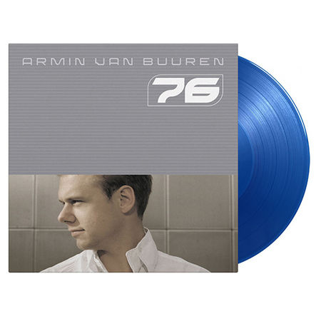 Armin Van Buuren: 76: Limited Edition Transparent Blue Vinyl