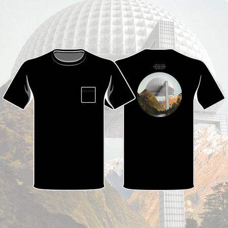 Fryars: Fryars Dome Black T-Shirt