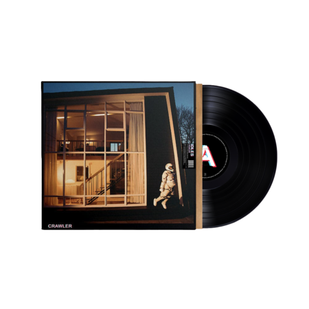 IDLES: CRAWLER: Black Vinyl LP