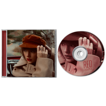 Taylor Swift: RED (TAYLOR'S VERSION) CD (EXPLICIT)