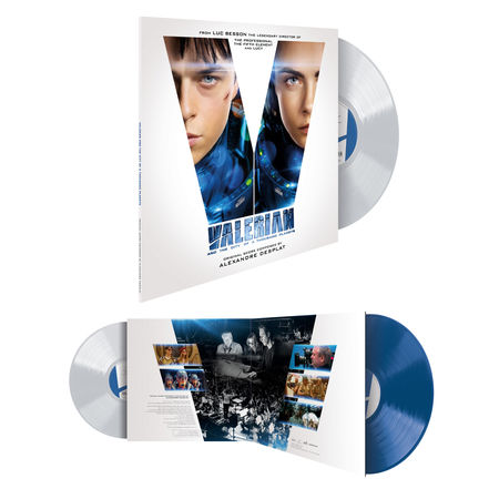 Various Artists: Valerian And The City Of A Thousand Planets: Blue & White Vinyl