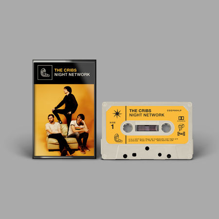 The Cribs: Night Network: Limited Edition Cassette
