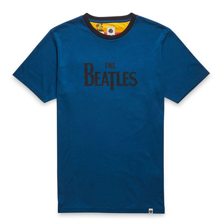 The Beatles: Yellow Submarine Print T-Shirt Navy