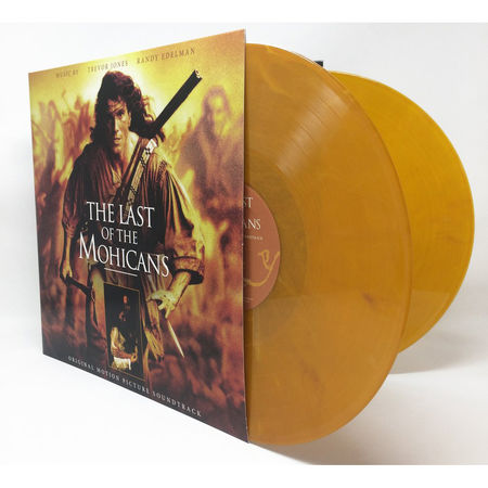 Trevor Jones & Randy Edelman: The Last of the Mohicans: Original Motion Picture Soundtrack (Limited Sepia-Toned Vinyl Edition)