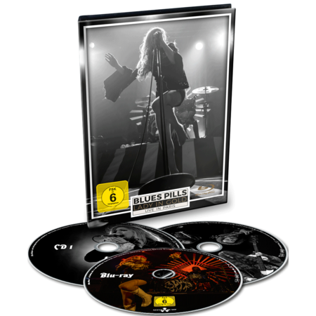 Blues Pills: Lady In Gold - Live In Paris: Ltd. Edition Blu-Ray/2CD Digibook