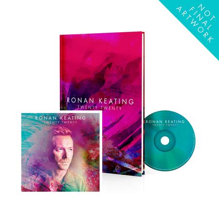 Ronan Keating: Twenty Twenty Collector's Album + SIGNED Twenty Twenty Litho