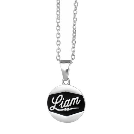 One Direction: One Direction Liam Logo Disc Necklace