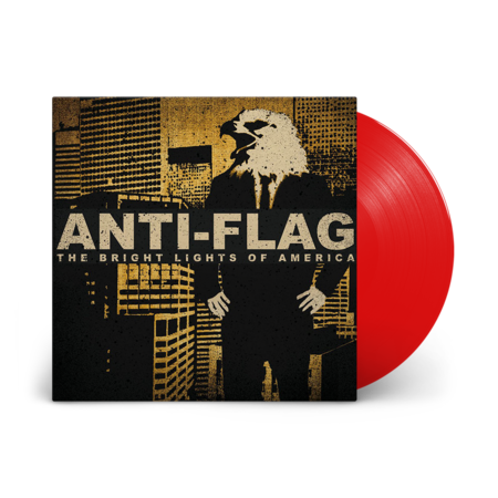 Anti-Flag: Bright Lights of America: Limited Edition Solid Red Vinyl