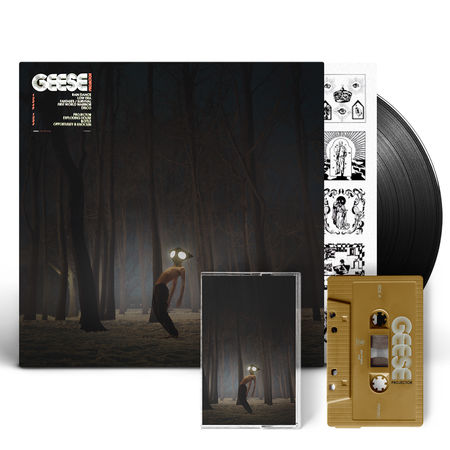 Geese: Projector: Vinyl & Recordstore Exclusive Signed Gold Cassette Bundle