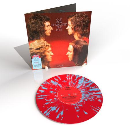 Slade: Old New Borrowed And Blue: Red + Blue Splatter Vinyl LP