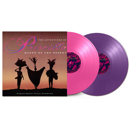 Original Soundtrack: Adventures Of Priscilla, Queen Of The Desert: Pink & Purple Double Vinyl LP