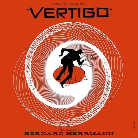 Bernard Herrmann: Vertigo: 60th Anniversary Edition Heavyweight Black Vinyl