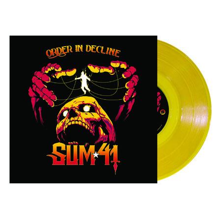 Sum 41: Order In Decline: Limited Edition Yellow Vinyl