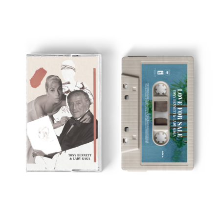 Tony Bennett & Lady Gaga: Love For Sale Music Cassette Standard - Pale Pink