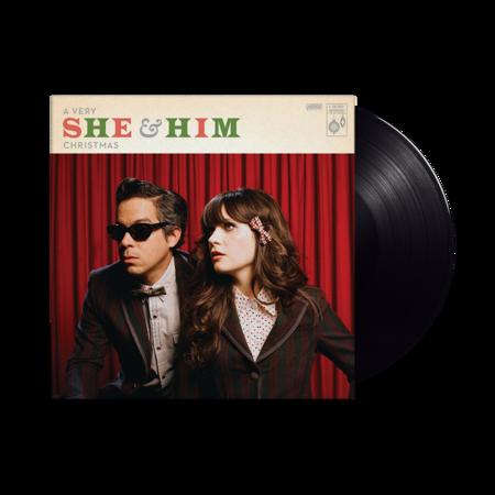 She & Him: A Very She & Him Christmas: Black Vinyl LP