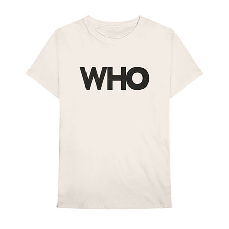 The Who: Who Logo Album Tee